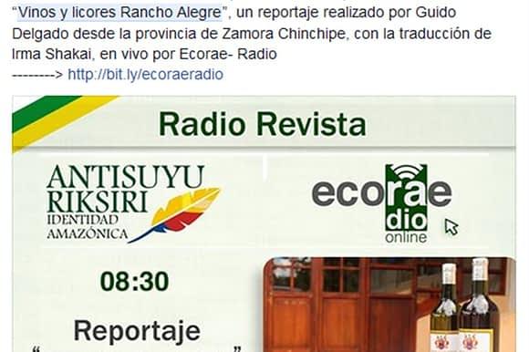 Reportaje: Vinos y Licores Rancho Alegre